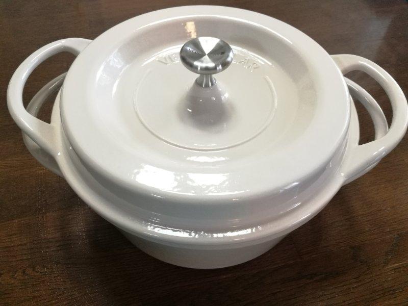 バーミキュラ鍋22cmベージュ