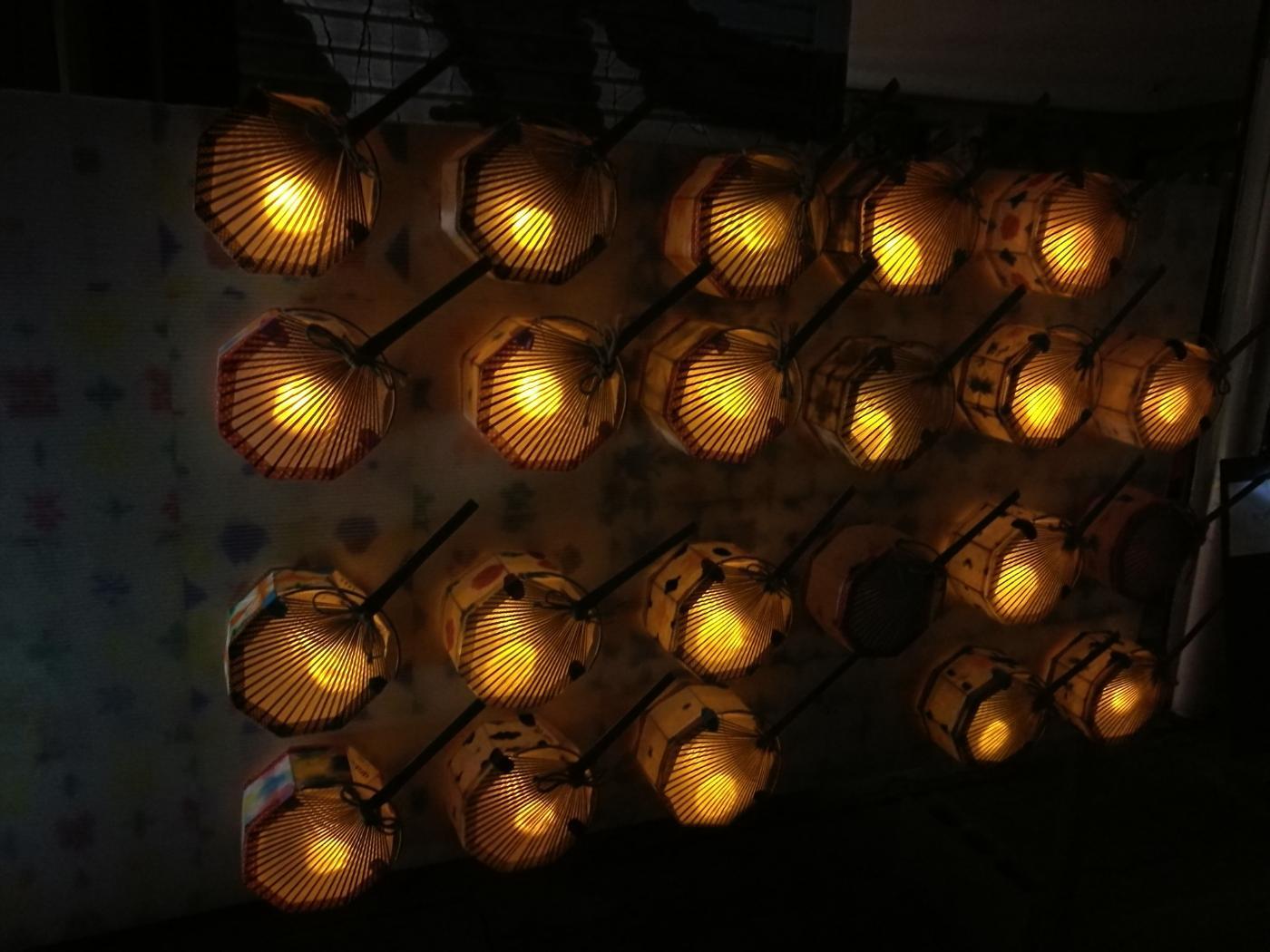 おしろのまちの市夜市レンタル提灯