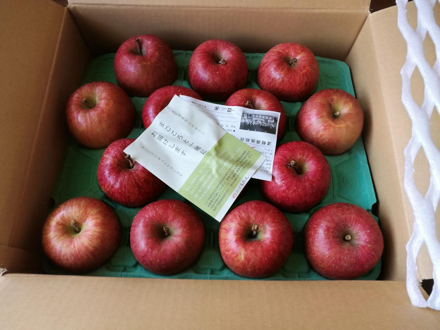 コープ自然派青森県産 津軽産直組合のりんご
