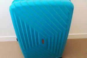 アメリカンツーリスターのスーツケース「エアフォースワン」エアロターコイズ水色96.5L76cm
