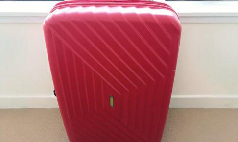 サムソナイト・アメリカン・ツーリスターのスーツケース「エアフォースワン」フレームレッド96.5L76cm