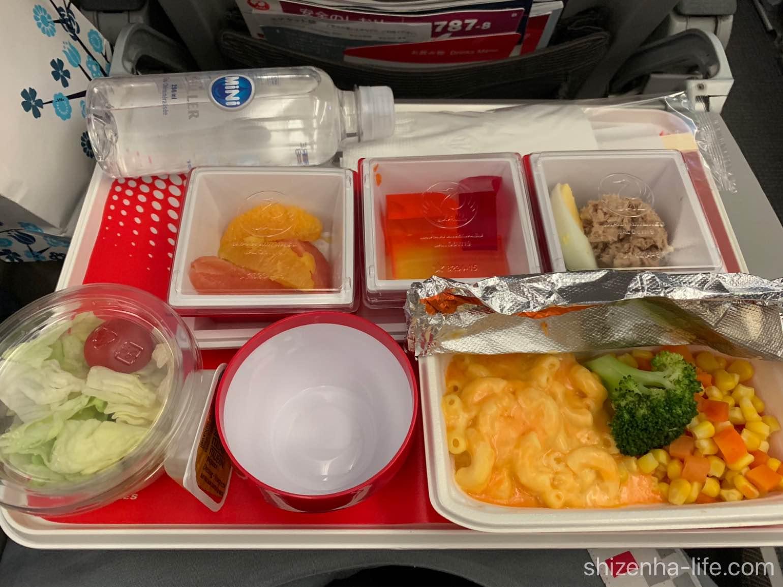 JAL国際便キッズミール