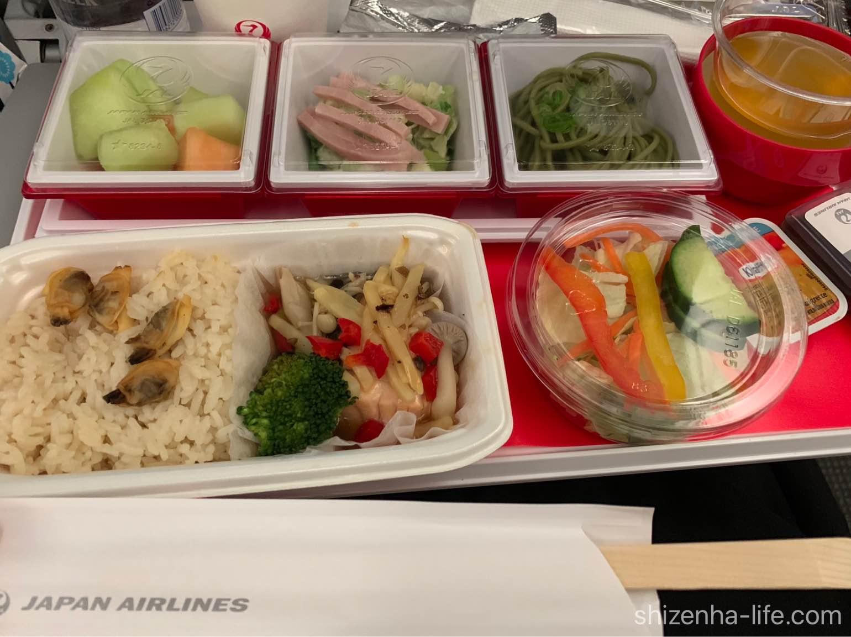 JAL国際便機内食
