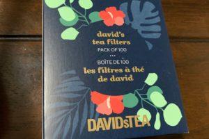 DAVIDs tea tea bag