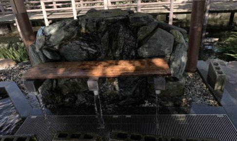 愛媛県西条市のうちぬき水汲み場
