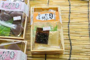 徳島県鳴門市こだわり豆腐太子屋本店のもちもちわらび餅