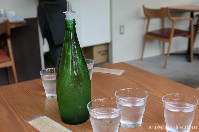宇多津トートコーヒーTHOTH COFFEE サービスの水