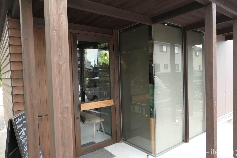 宇多津トートコーヒーTHOTH COFFEE入り口