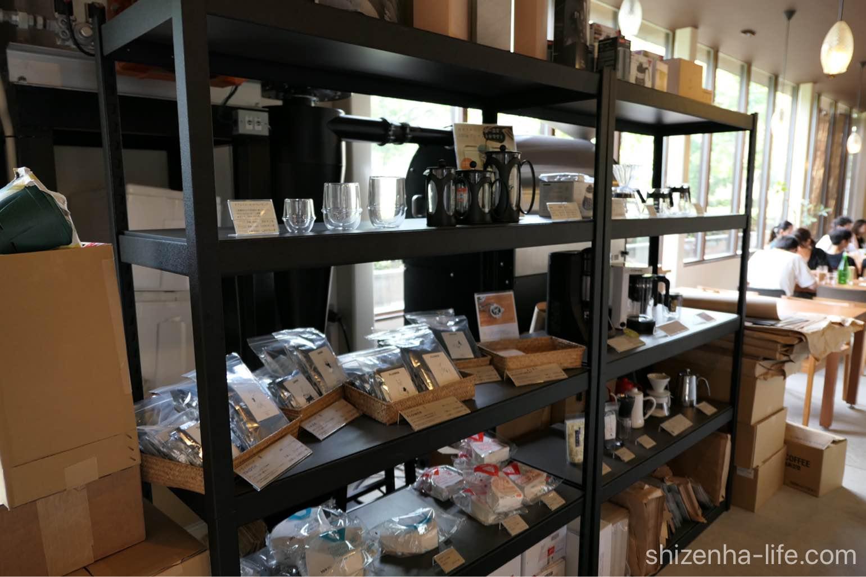宇多津トートコーヒーTHOTH COFFEE店内商品