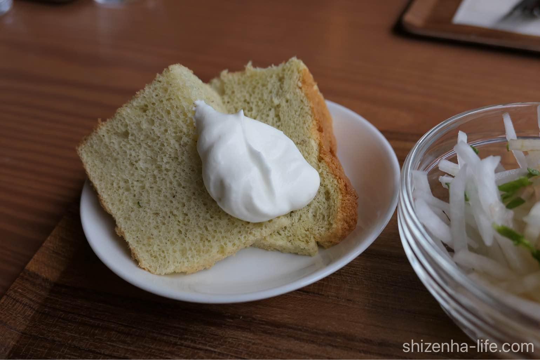 宇多津トートコーヒーTHOTH COFFEE シフォンケーキ