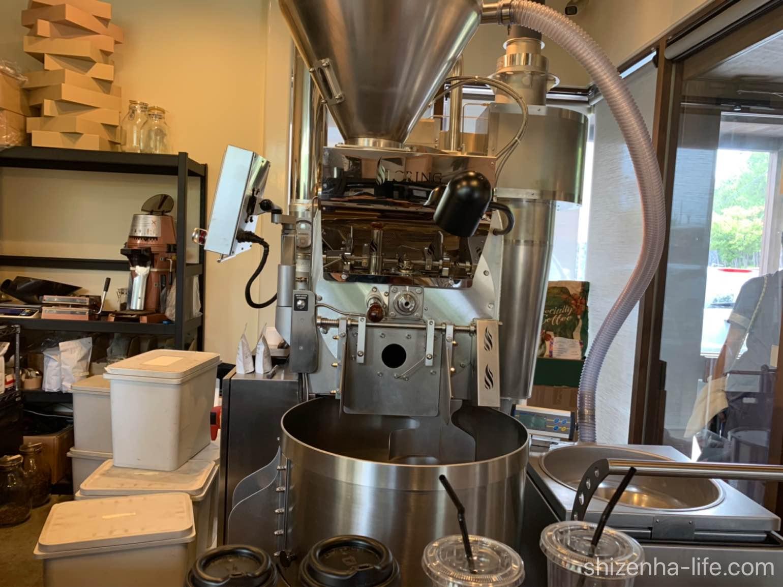 宇多津トートコーヒーTHOTH COFFEEコーヒー焙煎機
