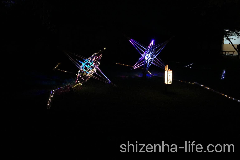 丸亀城キャッスルロード光のオブジェ