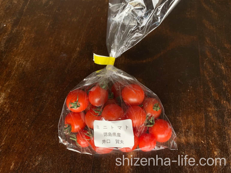 ミニトマト 150g 徳島県産 生産者井口賀夫さん