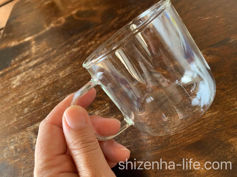 無印良品 耐熱ガラスマグカップ
