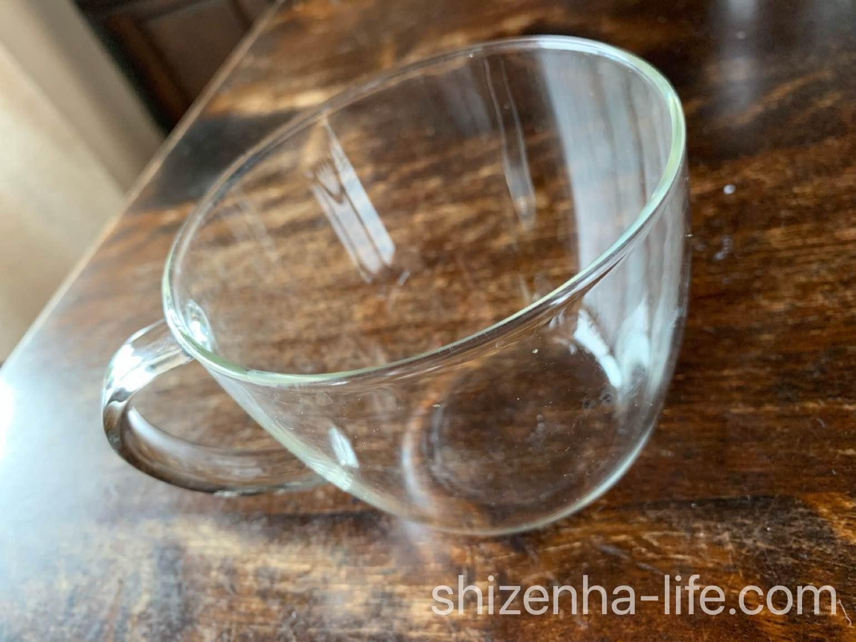 ニトリ 耐熱ガラスマグカップ